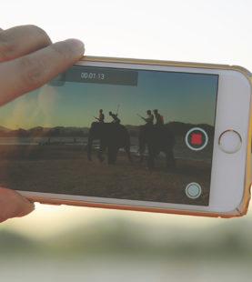 Transformer votre smartphone en studio TV